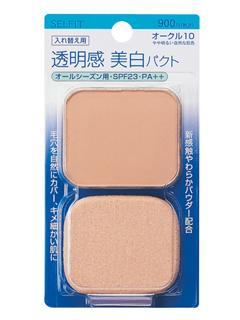 資生堂 セルフィット ピュアホワイトファンデーション (レフィル) ピンクオークル10