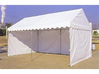 南榮工業(南栄工業) テント幕 フレームテント三方幕 白 1.5間×2間用