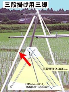 南榮工業 ほすべー 三段掛け用三脚 B-2