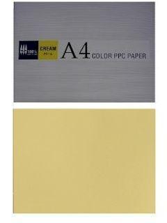 カラーコピー用紙 A4 クリーム 500枚入