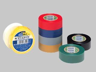 ビニールテープ NO21 19mm×10m 赤