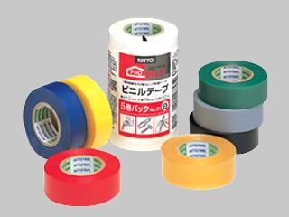 ビニールテープ 緑 5P 19mm×10m
