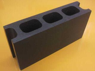 発泡 Kブロック(大) 390×190×100mm ブラック