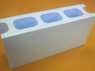 発泡 Kブロック(大) 390×190×100mm ライトブルー
