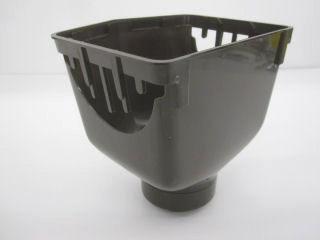 くし型集水器100×55 新茶KQ5330