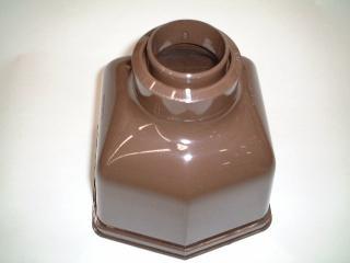 くし型集水器105×55新茶KQ5341*