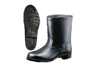 ミドリ安全 半長靴安全靴 HS400N 24.0cm