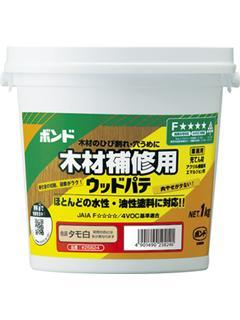 コニシ 水性ウッドパテ タモ白 1kg
