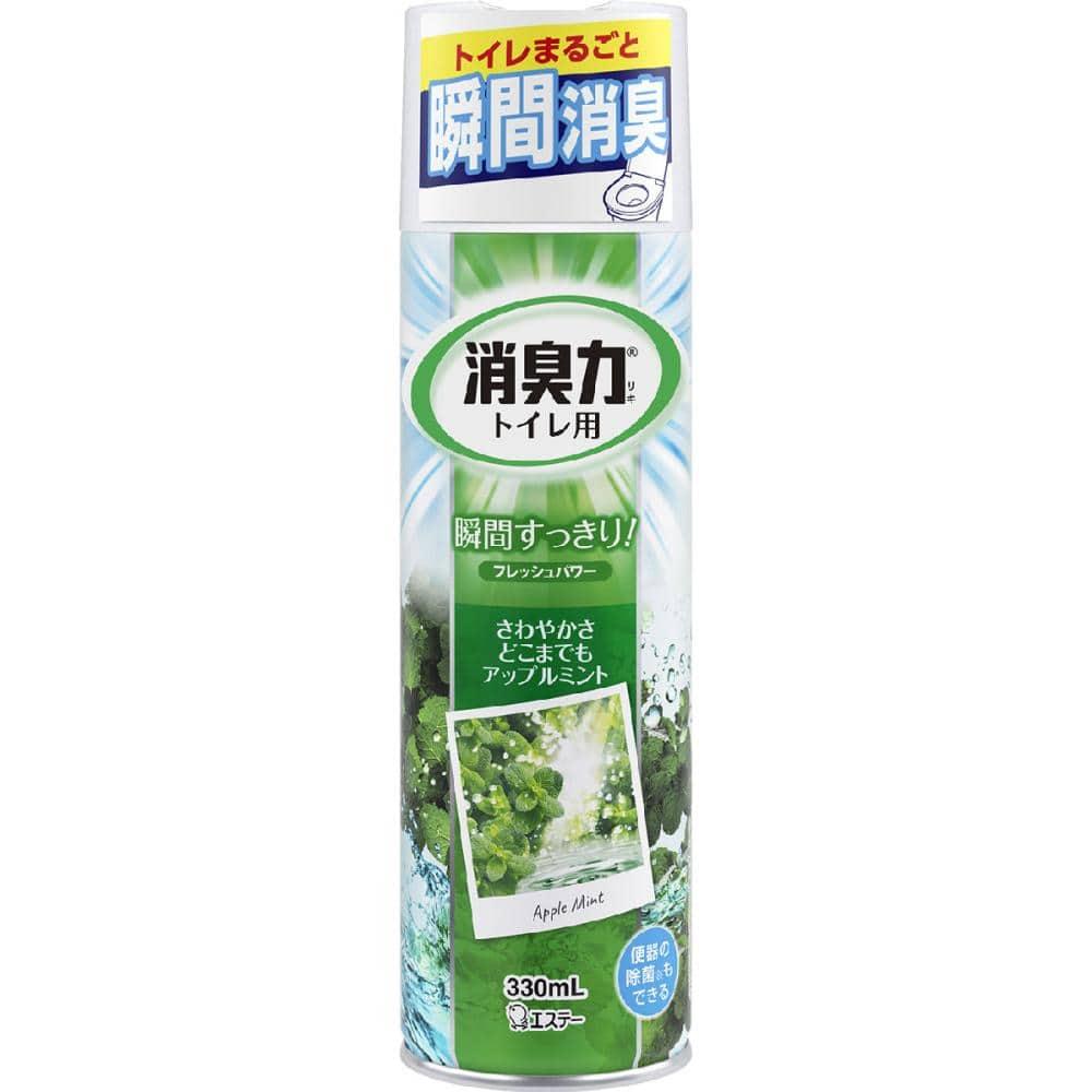 エステー化学 消臭力スプレー トイレ用 アップルミント 330ml