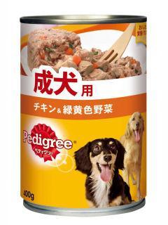 マース ペディグリー 成犬用 旨みチキン&野菜 400g