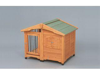 【クリックでお店のこの商品のページへ】サークル犬舎 CL-1100 ブラウン