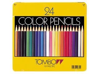 トンボ 色鉛筆 24C