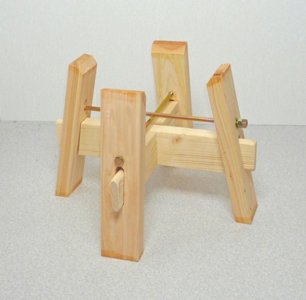 鉢形臼用木台