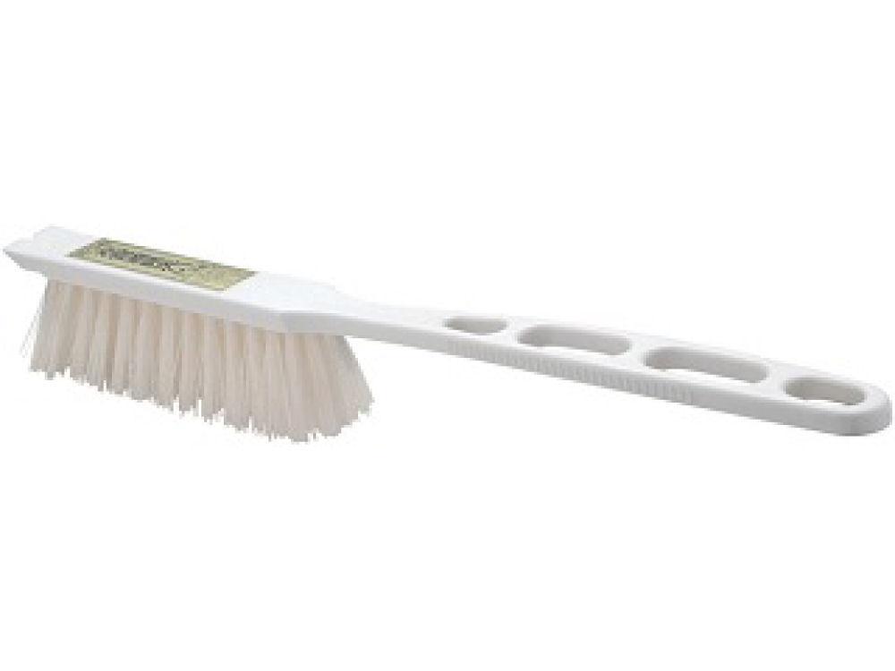 道具洗いブラシ 白柄