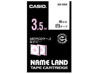 カシオ ネームランドテープ XR3WE