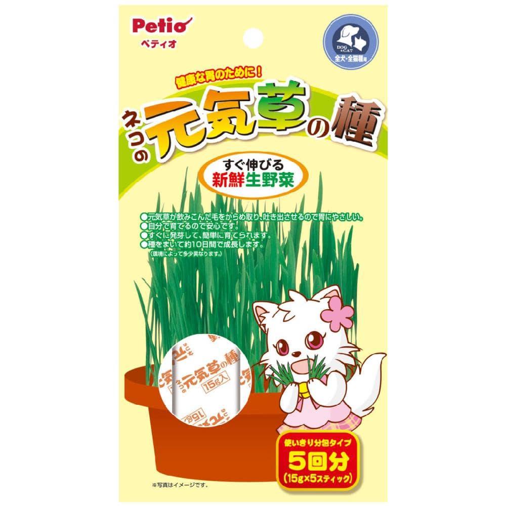ペティオ ネコの元気草の種 15g×5包入り