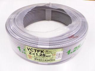 ビニルキャブタイヤ長円形コード VCTFK 100m巻 各種