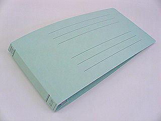 フラットファイル 統一伝票サイズ E ブルー