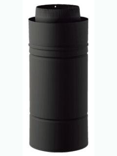 ホンマ 黒耐熱 二重煙突 半直筒 φ106