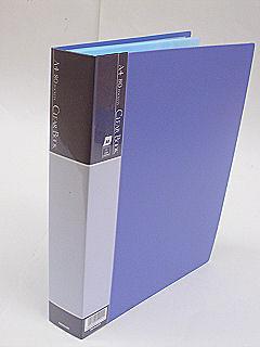 クリアブック A4 80枚 ブルー CBE1035B
