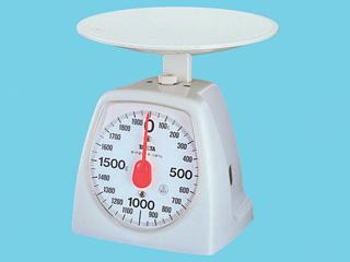 タニタ アナログクッキングスケール 2kg ホワイト 1439