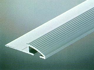 カーペットエッジ1m シルバー D600-1