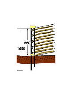 イノシシ用打込支柱