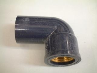 HIメタル入り水栓エルボ16