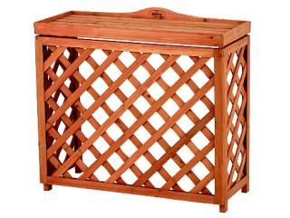 木製室外機カバー 85×75×34.5cm