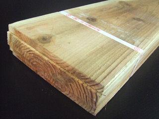杉 野地板 (約)12×180×1820mm 5枚束