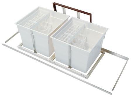 床下収納庫スライド式 2連600タイプ