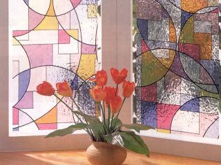 窓飾りシート 46cm丈×90cm巻 GLS-4652