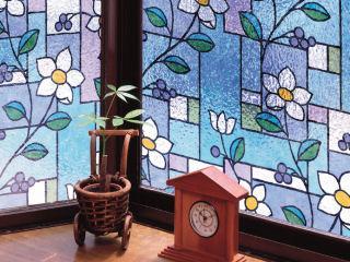 窓飾りシート 46cm丈×90cm巻 GLS-4657