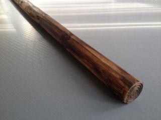 焼磨丸太 直径3.5cm×3m