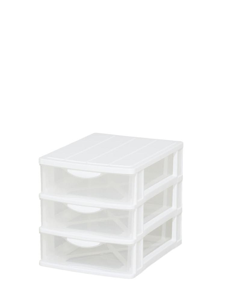 フロンテミニA4浅3段 ホワイト