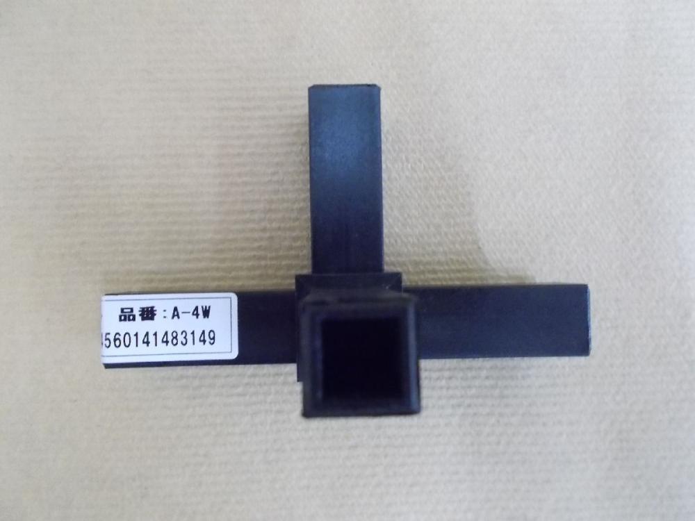16用 樹脂ジョイント 4方向穴ナシ(A-4W)