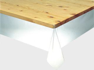 テーブルクロス 3点機能付き透明フィルム 幅120cm×0.45mm厚 MGK-1245