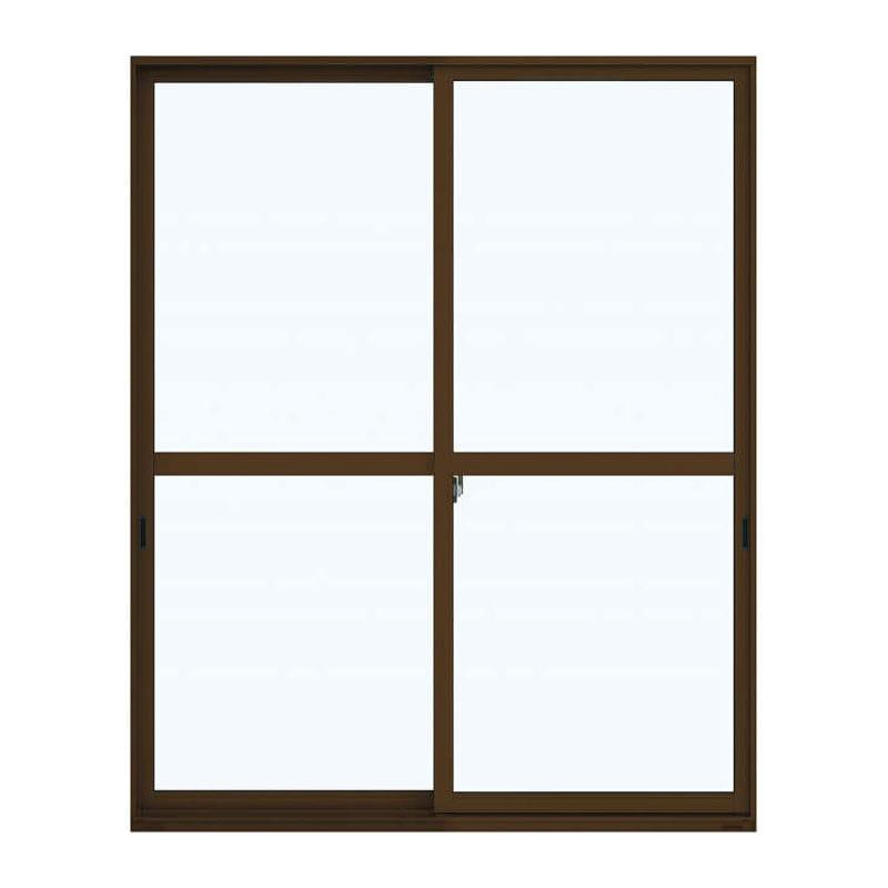 引違い窓 W1690×H1830mm 二重ガラス:上:透明 下:型ガラス アングルなし 各種