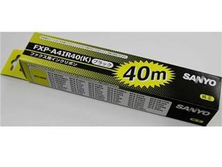 サンヨー FAX用インクリボン FXP-A41R40(K)