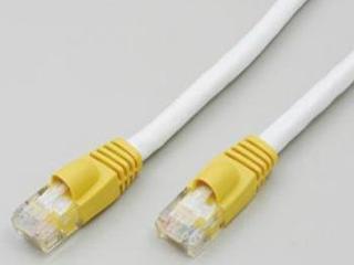 LANケーブル クロス1m LAN-X1010 W