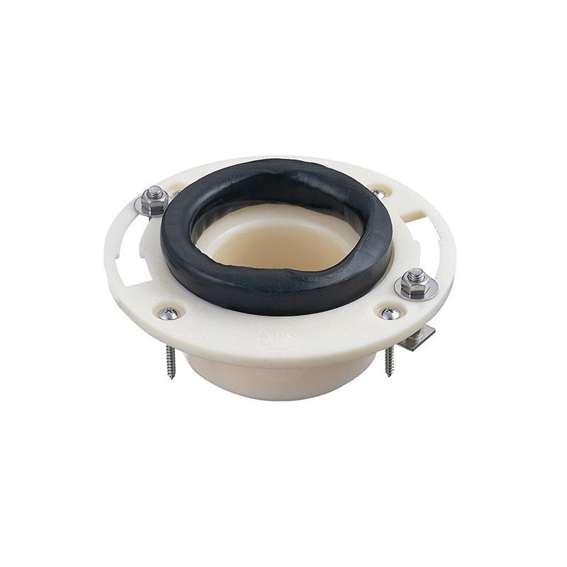 大便器用 呼び75・100兼用 床フランジ ステンレスボルト付 H800-8