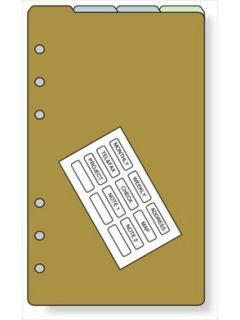 レイメイ リフィル B6 カラーインデックス WWR333
