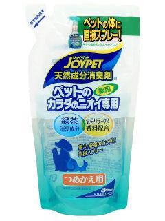 ジョイペット 消臭剤カラダ専用 詰替 240ml