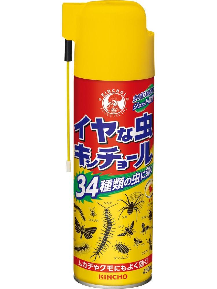 金鳥 イヤな虫専用 キンチョール450ml