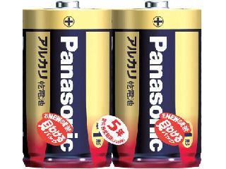 パナソニック アルカリ乾電池 単1形2本入 LR20XJ/2SE