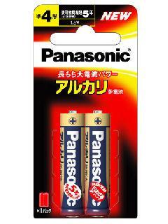 パナソニック アルカリ乾電池 単4形2本入 LR03XJ/2B