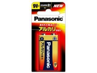 パナソニック アルカリ乾電池 9V 6LR61XJ/1B