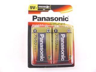 パナソニック アルカリ乾電池9V形 2本パック 6LR61XJ/2B