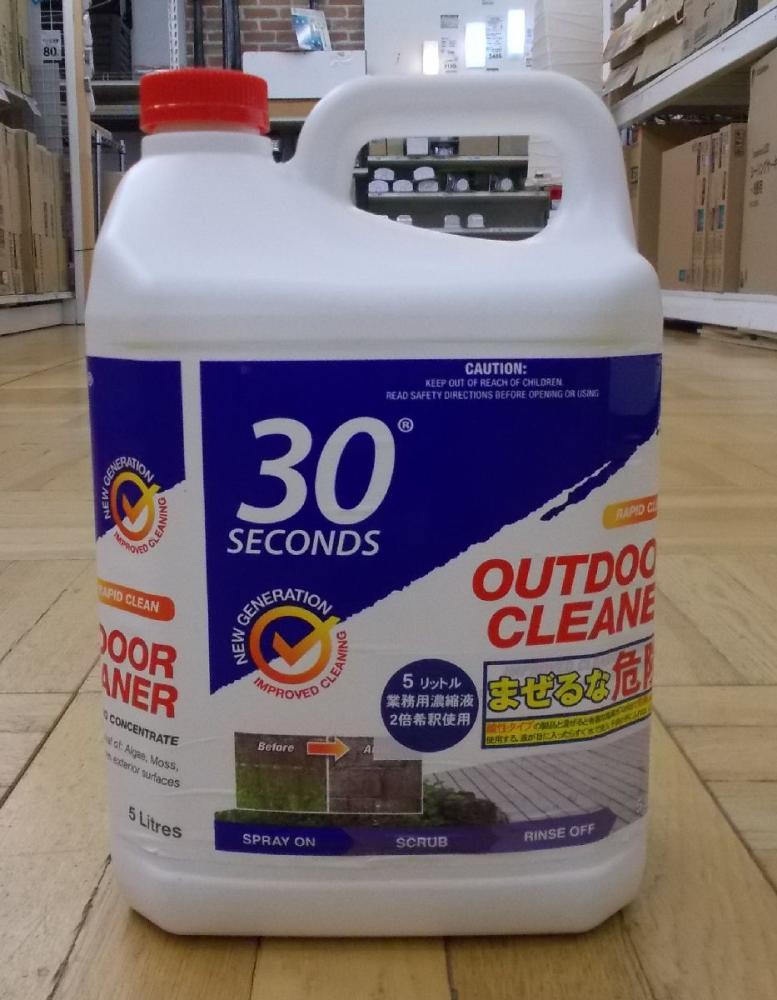 30セカンズ アウトドアクリーナー 5L 濃縮液