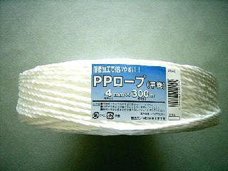 PPロープ 白 4mm×300m